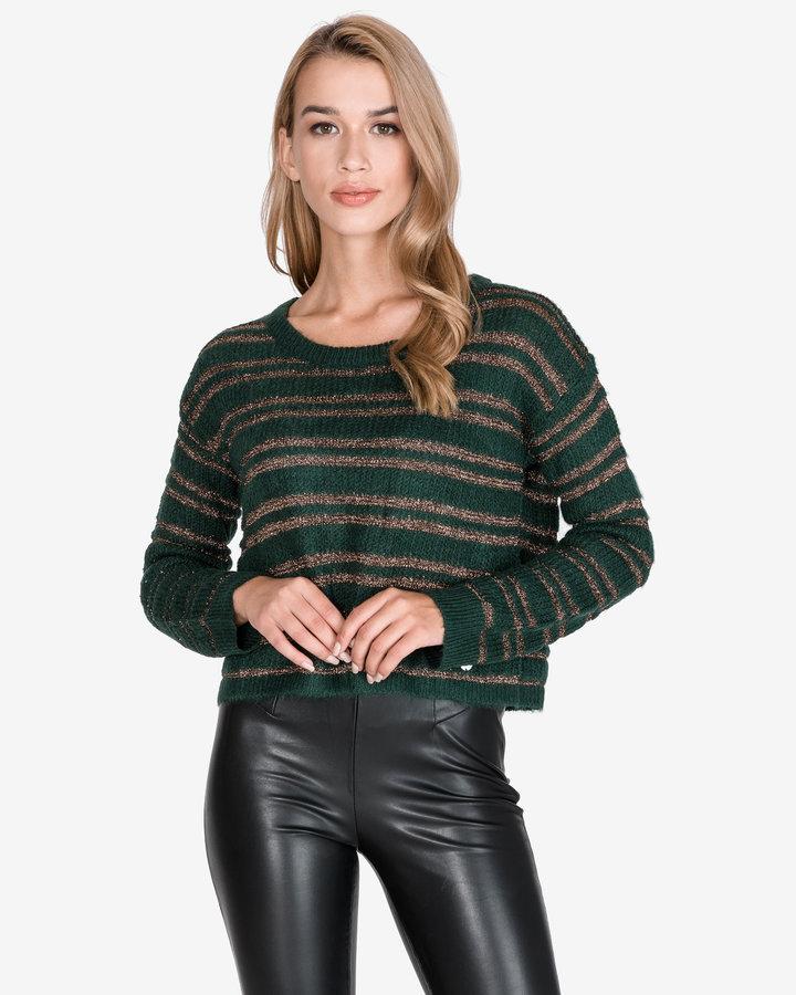 Zelený dámský svetr Pepe Jeans