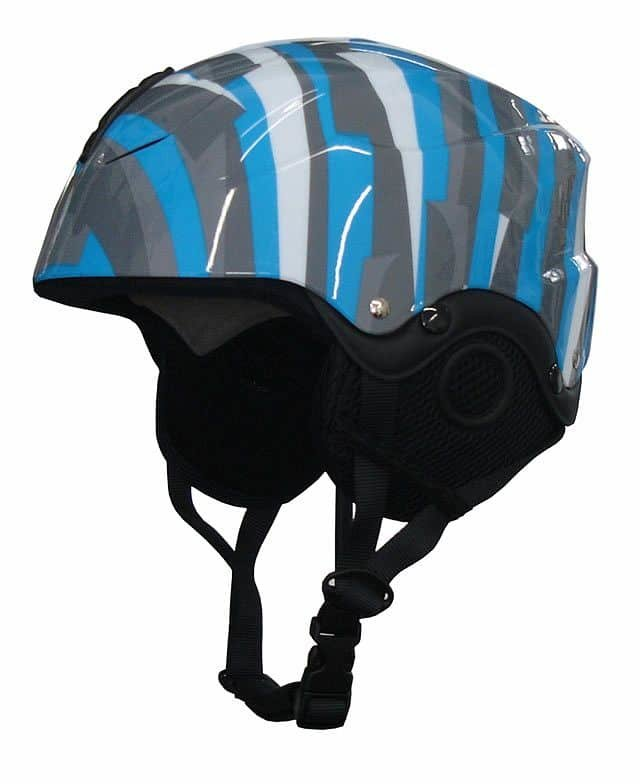 Modro-šedá lyžařská helma Brother - velikost 44-48 cm
