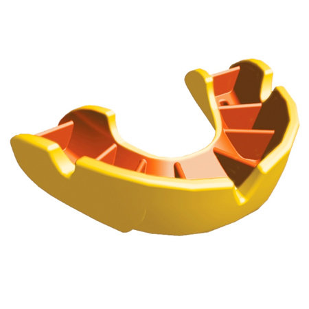 Žlutý chránič na zuby na hokej Opro