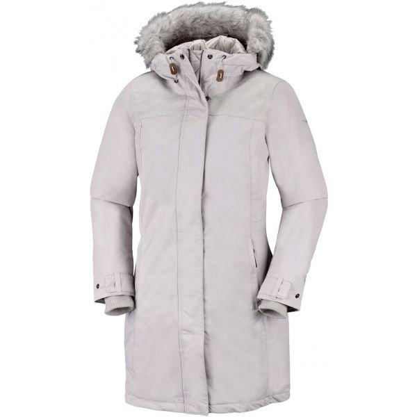 Šedý zimní dámský kabát Columbia