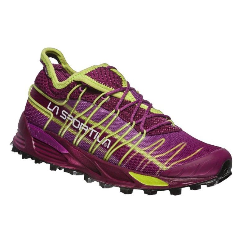 Fialovo-zelené dámské běžecké boty Mutant, La Sportiva - velikost 38,5 EU