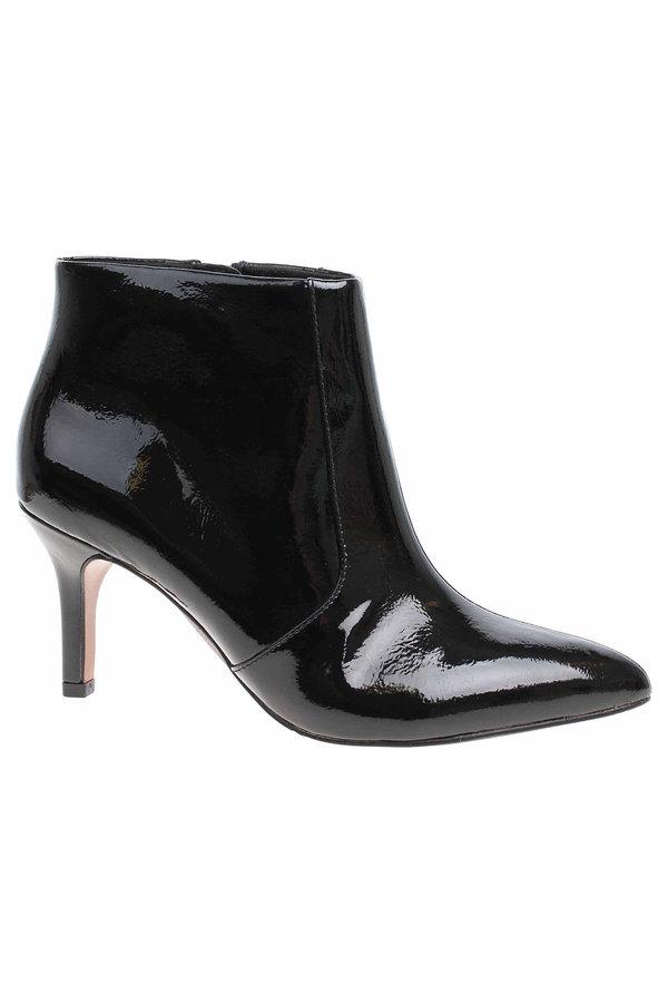 Černé dámské zimní boty s.Oliver