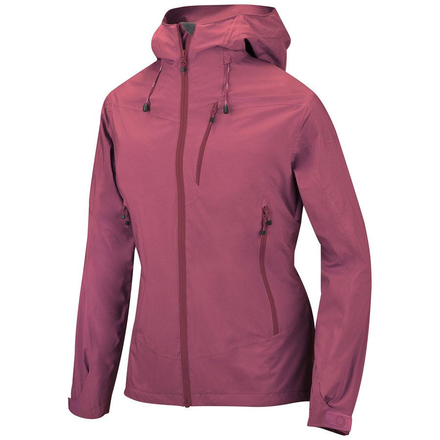 Růžová hardshellová dámská bunda Husky