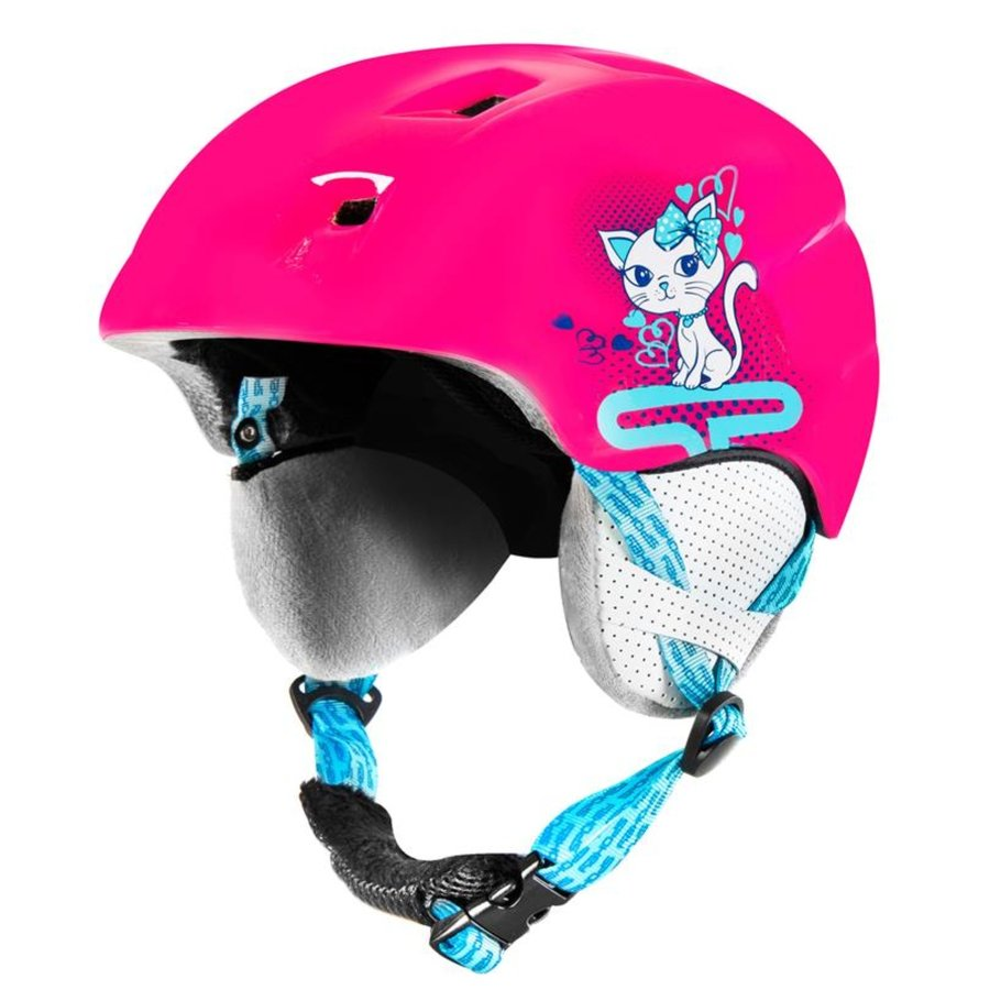 Černá dětská lyžařská helma Spokey