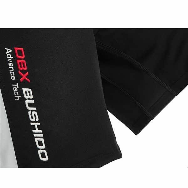 Bílo-černé MMA kraťasy Bushido - velikost L