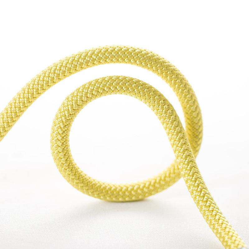 Žluté horolezecké lano Beal - průměr 9,5 mm a metráž