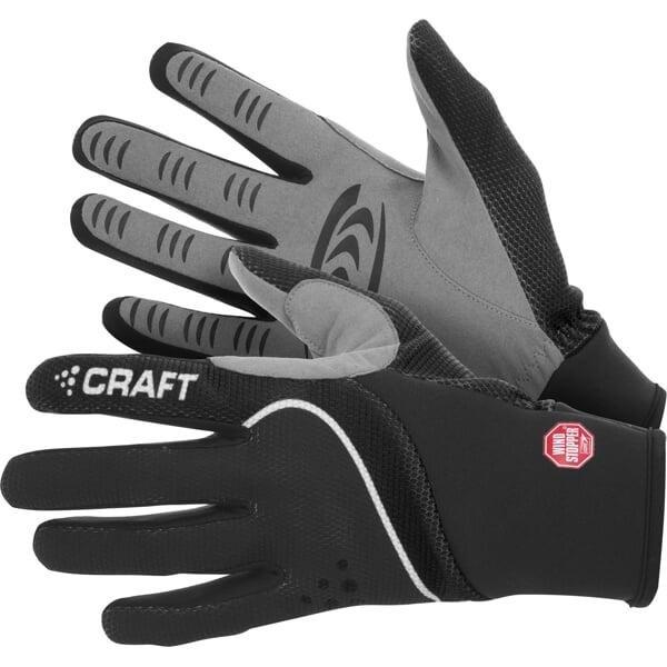Rukavice na běžky - Craft Power WS 193384 běžkařské rukavice - XXS - černá s bílou