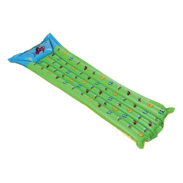 Zelené nafukovací lehátko Wiky - délka 139 cm a šířka 69 cm