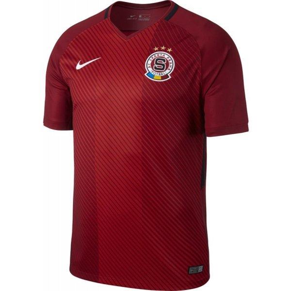 Červený fotbalový dres Nike