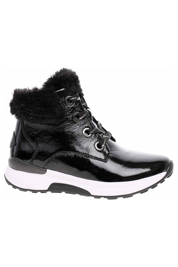Černé dámské kotníkové boty Gabor