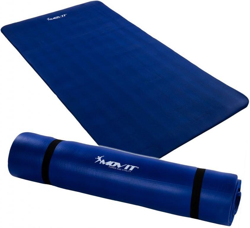 Modrá podložka na cvičení Movit - tloušťka 1,5 cm
