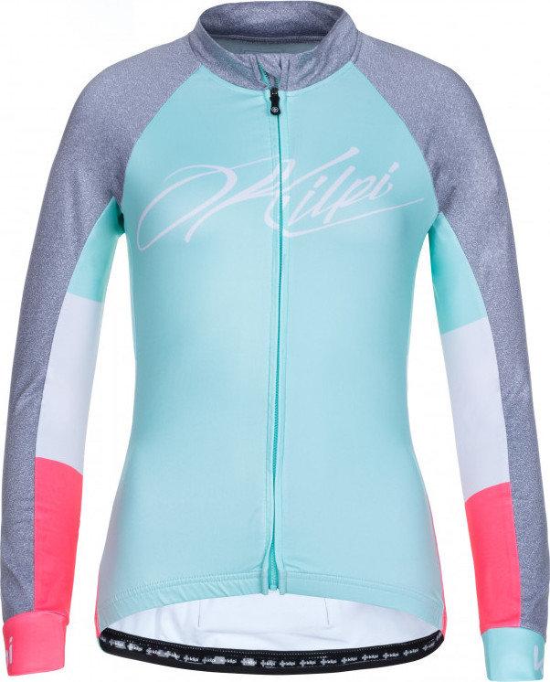 Tyrkysový dámský cyklistický dres Kilpi