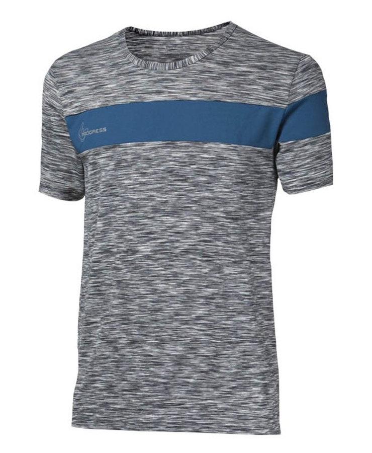 Modré pánské tričko s krátkým rukávem Progress - velikost L