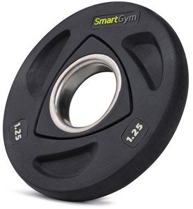 Litinový kotouč na činky SmartGym - 1,25 kg