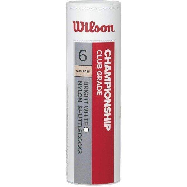 Plastový badmintonový míček Wilson - 6 ks