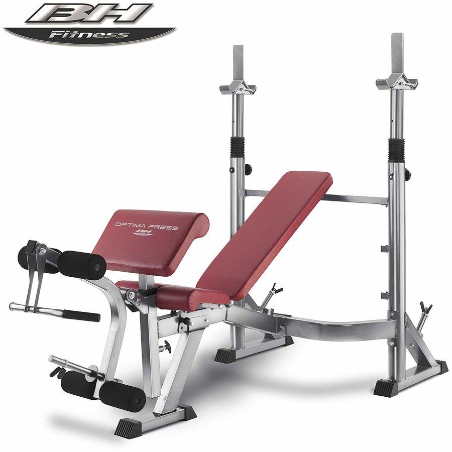 Multifunkční posilovací lavice Optima Press G330, BH Fitness