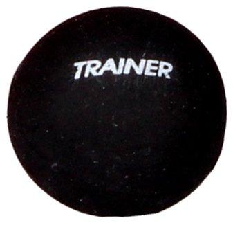 """Černý míček na squash """"modrá tečka"""" Merco - 1 ks"""