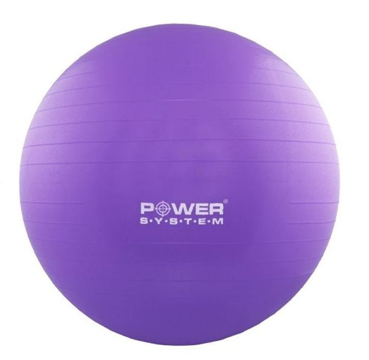 Modrý gymnastický míč Power System - průměr 75 cm