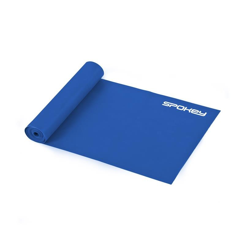 Posilovací guma - Spokey RIBBON II fitness guma modrá hard