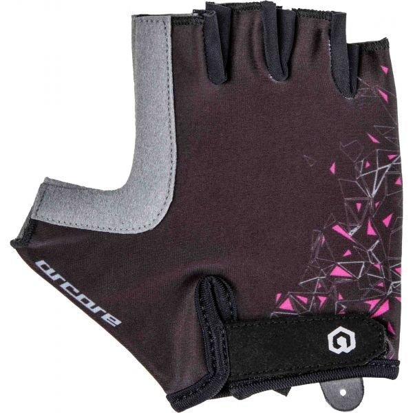 Hnědé dámské cyklistické rukavice Arcore