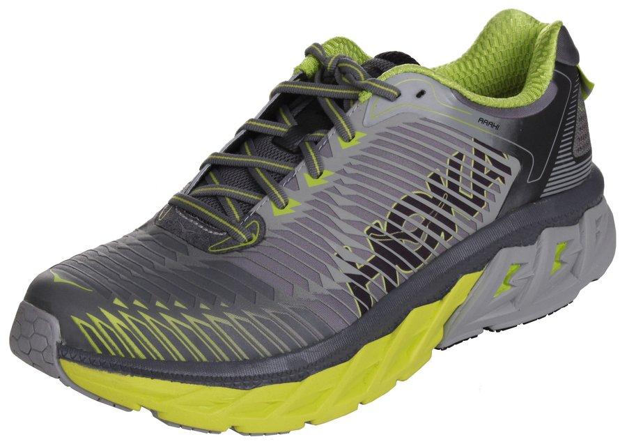 Šedé pánské běžecké boty - obuv Arahi, Hoka One One - velikost 44 EU