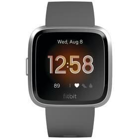 Šedé chytré hodinky Versa Lite, Fitbit