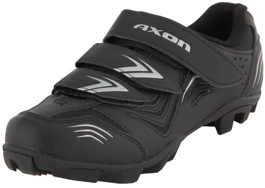 Černé pánské cyklistické tretry Axon