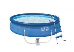 Bazénový set - INTEX 26166 EASY SET POOL 4,57 x 1,07 m