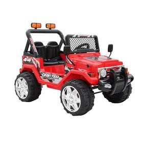 Červené dětské elektrické autíčko Made