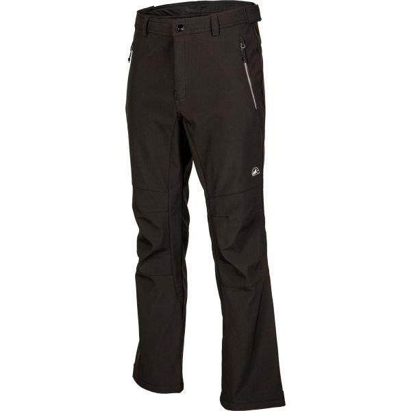 Černé softshellové zimní pánské kalhoty Willard