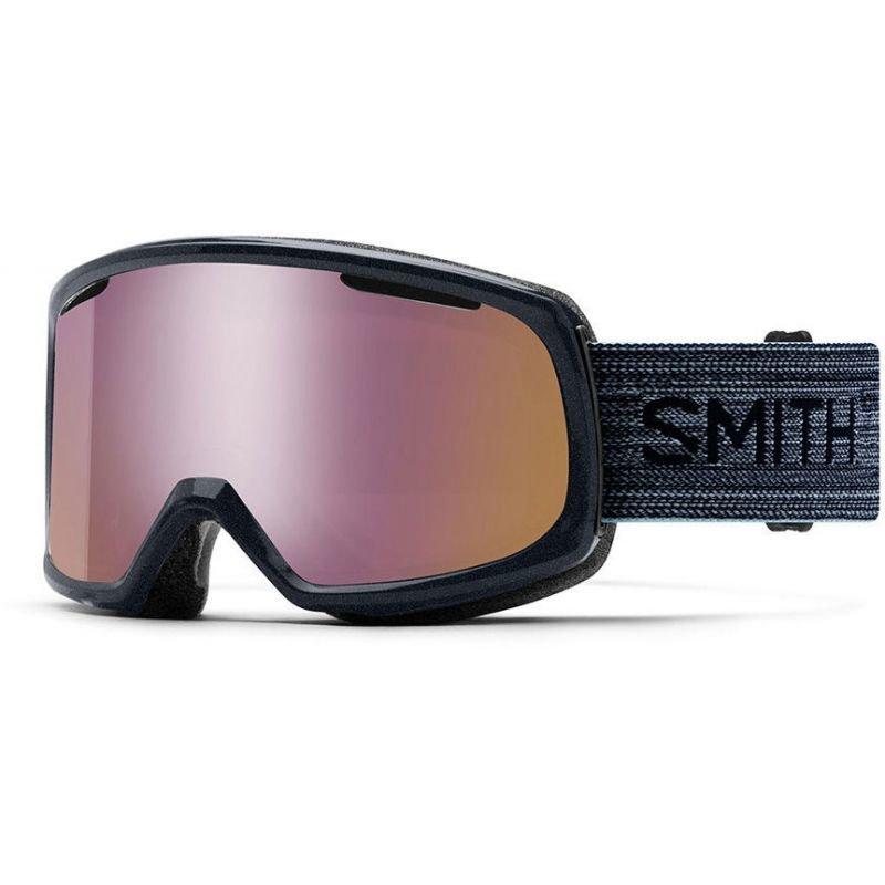 Růžové brýle na snowboard Smith