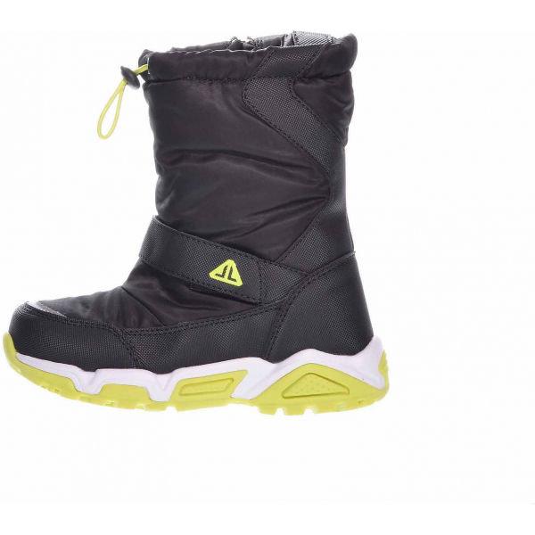 Černé dětské zimní boty Junior League
