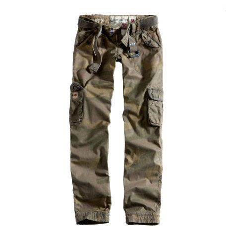 Kalhoty - Kalhoty dámské PREMIUM SLIMMY WOODLAND