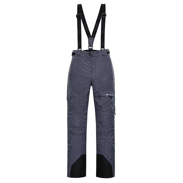 Šedé pánské kalhoty Alpine Pro - velikost XXL