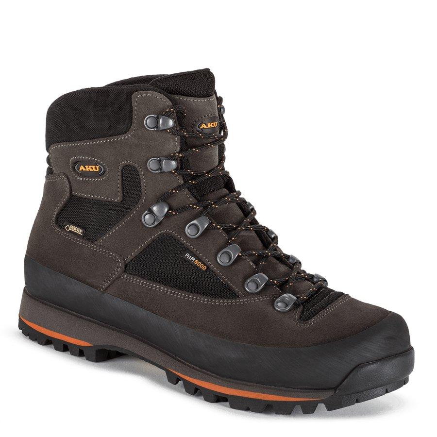 Černé voděodolné pánské trekové boty Conero, AKU - velikost 42,5 EU