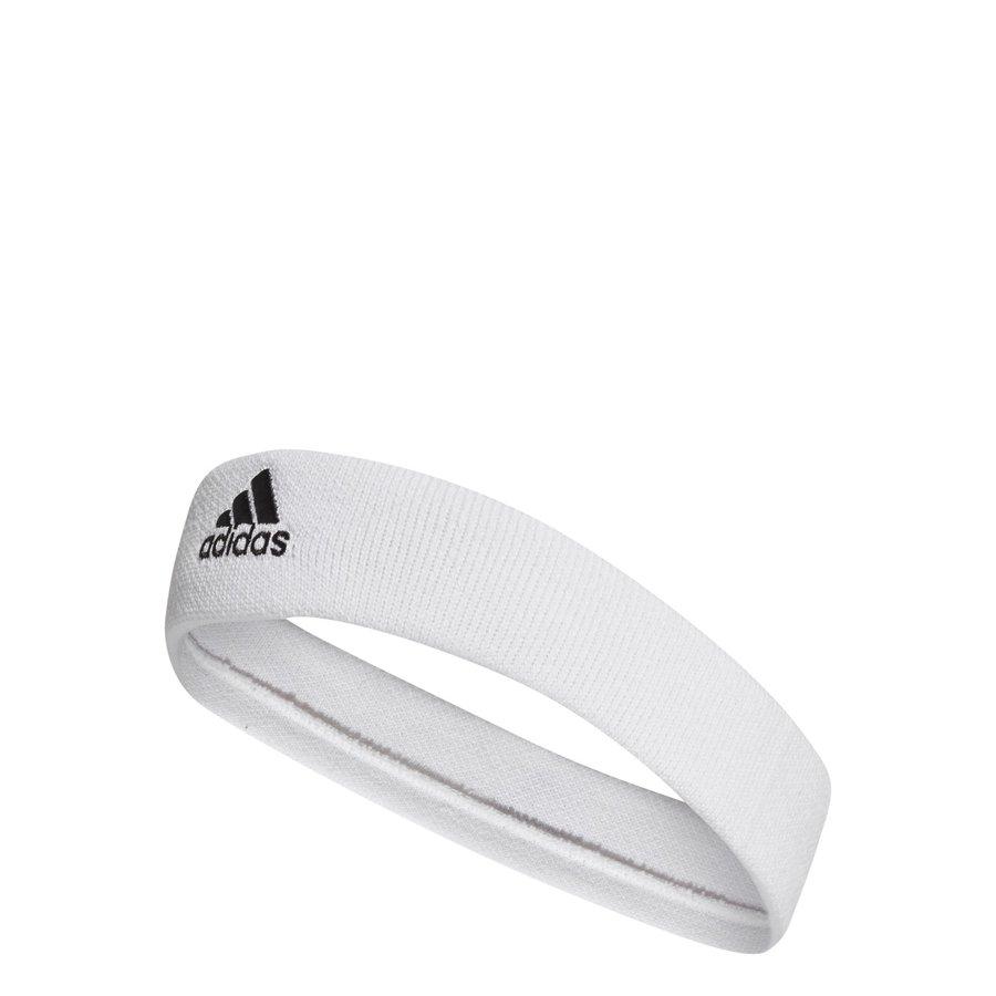 Bílá tenisová čelenka Adidas
