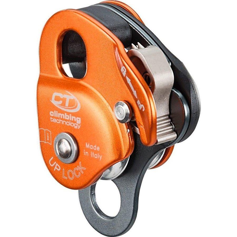 Oranžová kladka dvojitý Climbing Technology