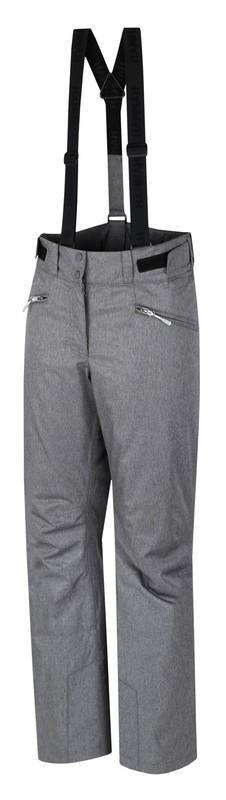 Šedé dámské lyžařské kalhoty Hannah - velikost 44