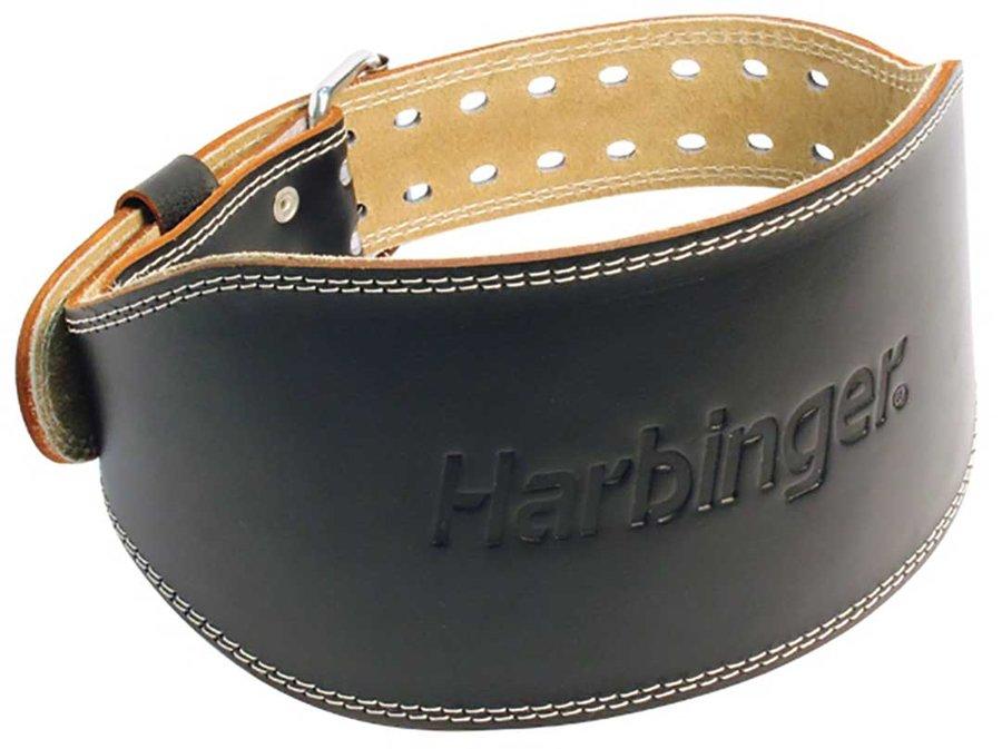 Kožený vzpěračský pás Harbinger - velikost L