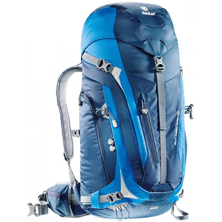 Modrý turistický batoh ACT Trail PRO, Deuter - objem 40 l
