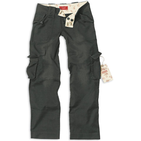 Kalhoty - Kalhoty dámské LADIES ČERNÉ