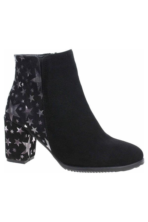 Černé dámské zimní boty Barton - velikost 39 EU