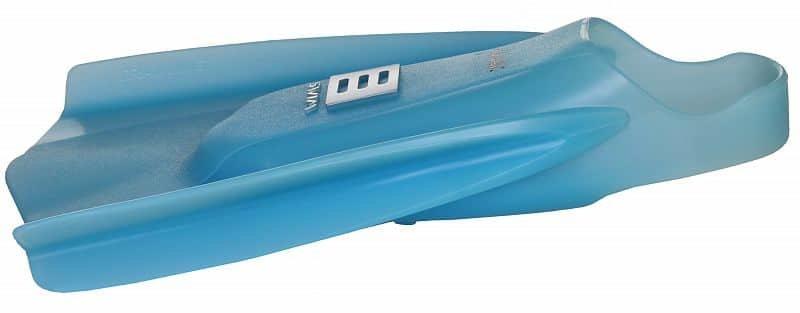 Modré plavecké krátké ploutve Tech2, Aqua-Speed - velikost 42-43 EU
