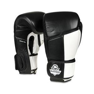 Bílo-černé boxerské rukavice BUSHIDO - velikost 10 oz