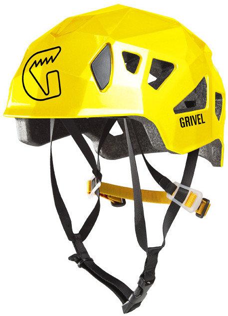 Žlutá dámská horolezecká helma Stealth, Grivel - velikost 54-62 cm