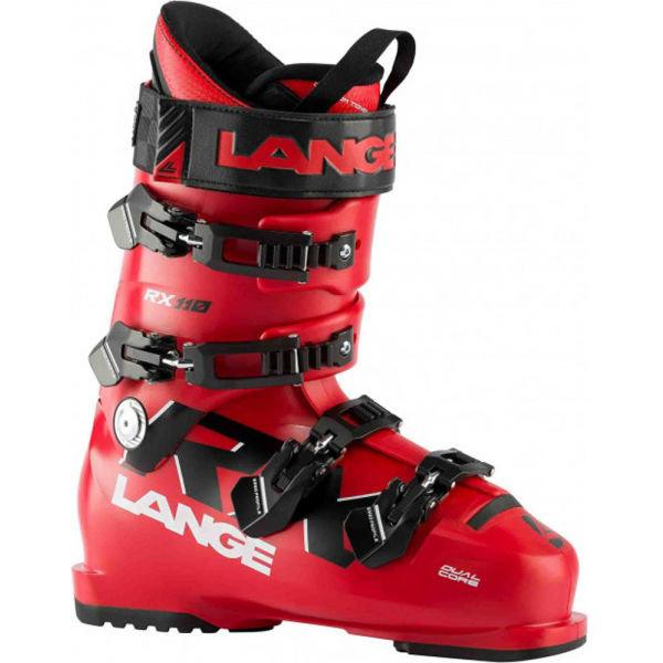 Červené pánské lyžařské boty Lange
