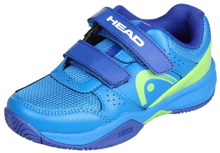 Modrá dětská tenisová obuv Sprint Velcro 2.0, Head - velikost 27 EU