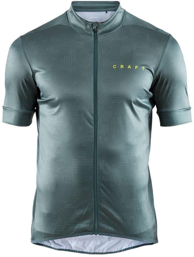 Zelený pánský cyklistický dres Craft - velikost M