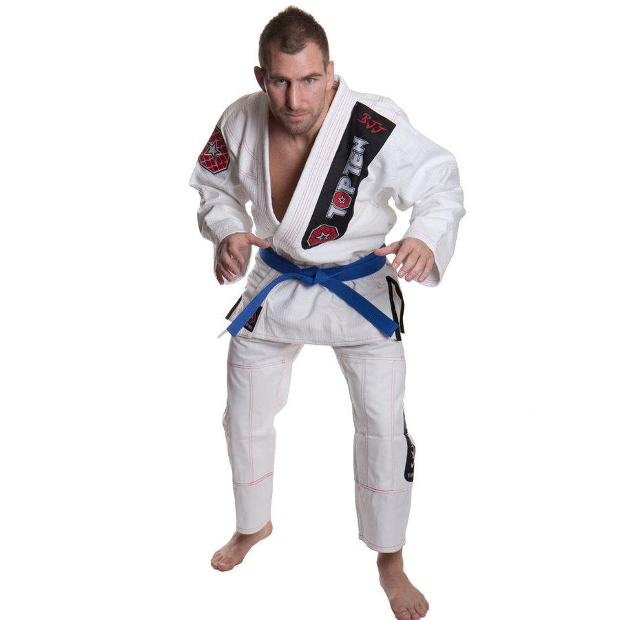 Bílé kimono na jiu-jitsu Top Ten