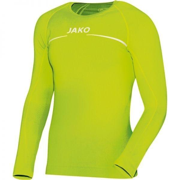 Žluté basketbalové tričko s dlouhým rukávem Jako